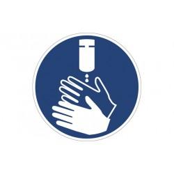 Adesivo gel igienizzante mani