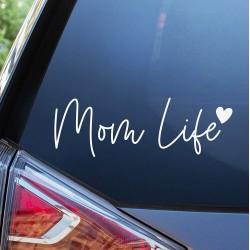 Adesivo Mom Life (Vita da...