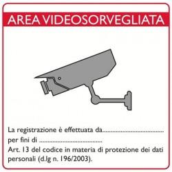 Adesivo telecamere