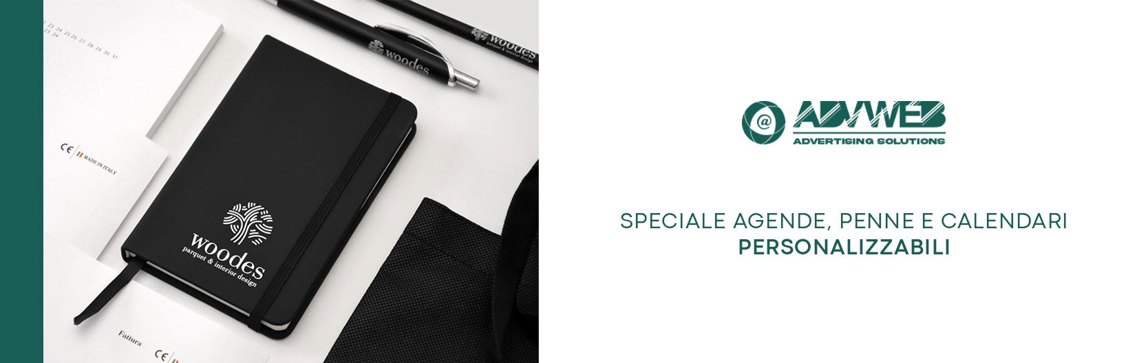 Agende, calendari e penne personalizzabili
